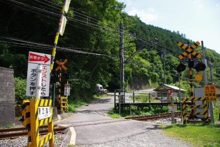 飯田線 唐笠踏切