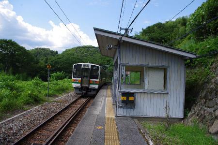 飯田線千代駅 213系