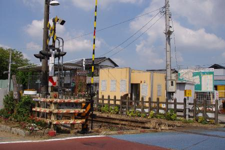 久留里線 東横田駅 姉ヶ崎街道踏切