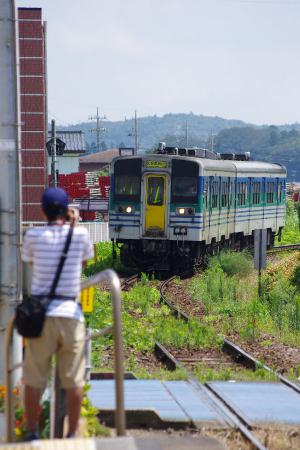 久留里線 東横田駅 キハ38