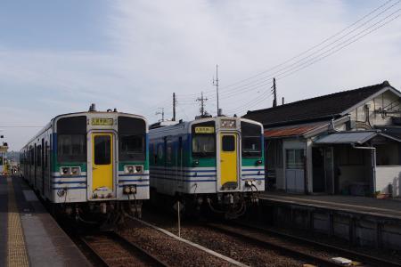 久留里線 横田駅 キハ37・38