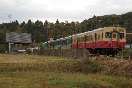 キハ30・37・38 久留里線上総松丘駅