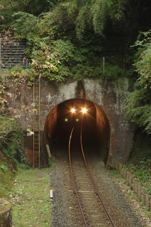 久留里線 名殿トンネル キハ38