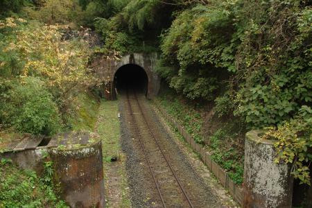 久留里線 名殿トンネル