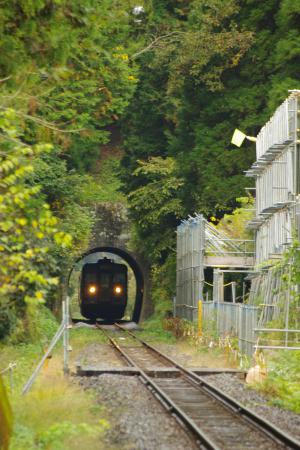 久留里線 トンネル キハ38