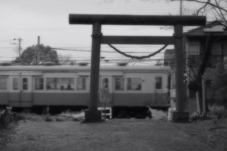 久留里線 高千穂踏切 キハ30