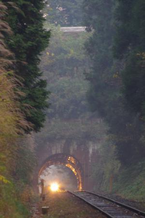 久留里線 三本松トンネル キハ37・38