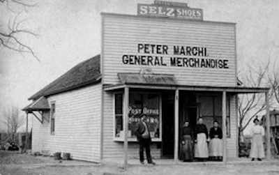 Rosati store, 1905-k