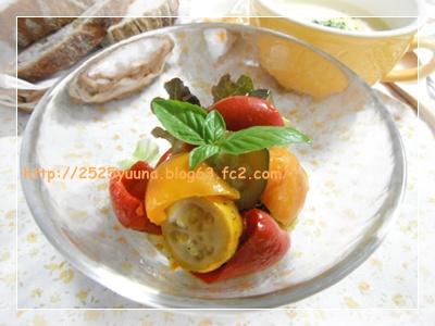 F20110819夏野菜の揚げびたし