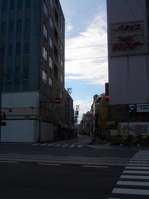 旧大和横から飛騨街道起点