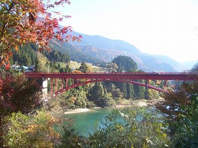 関所公園からの神狭橋