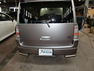 トヨタbB 福祉車両改造 手動運転装置 20111001