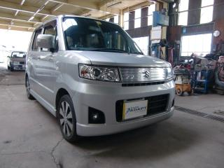 スズキワゴンR 福祉車両改造 手動運転装置 20111101