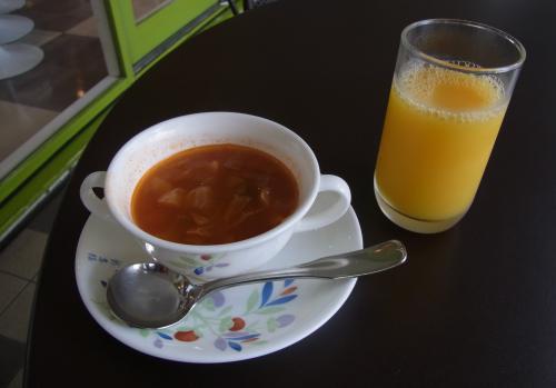 ペットスパ朝食