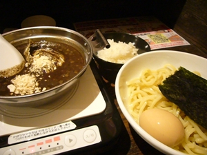 あびすけ 黒ゴマ坦々麺