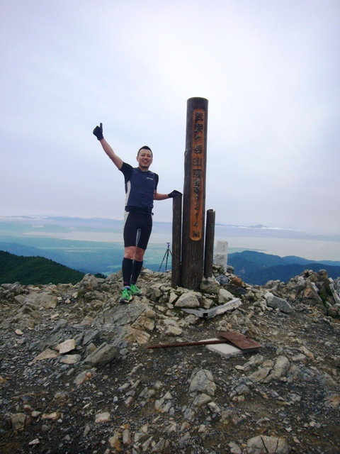 武奈ヶ岳山頂1214M