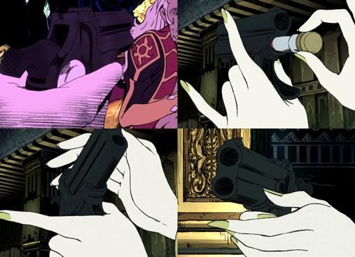 「LUPIN the Third -峰不二子という女-」 第1話 『大泥棒 VS 女怪盗』に登場した銃器