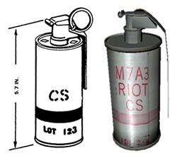 ABC M7A2/A3ライアット手榴弾
