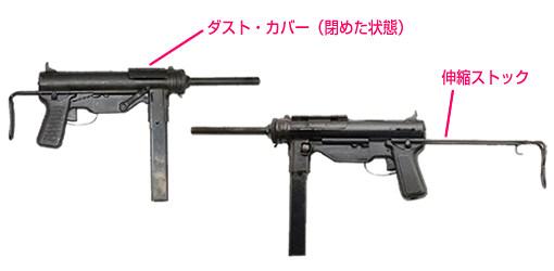 M3サブマシンガン