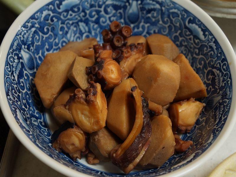 蛸と里芋煮