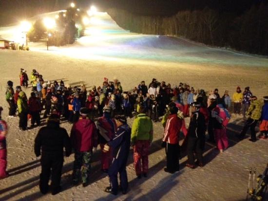 スキー教室終了式 八方台スキー場