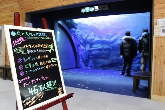 山の水族館エントランス