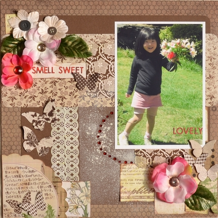 smell sweet