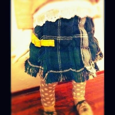 妹スカート