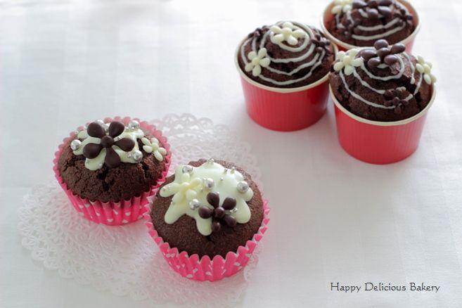 115糖質オフチョコカップケーキ2