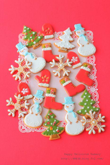 1203クリスマスアイシングクッキー