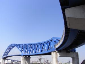 大阪千歳橋縮小