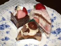 11/9 誕生日祝のケーキ
