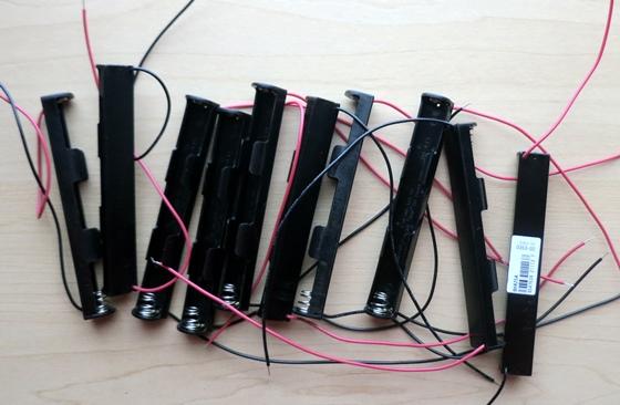 単4×2電池ケース