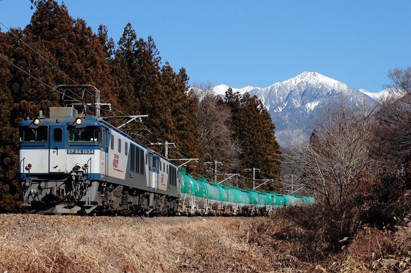 アルプスの山々にこの機関車はお似合いだぜ!