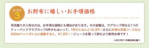 国産 ダイエットプーアール茶【茶流痩々】 (5)
