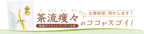 国産 ダイエットプーアール茶【茶流痩々】 (2)