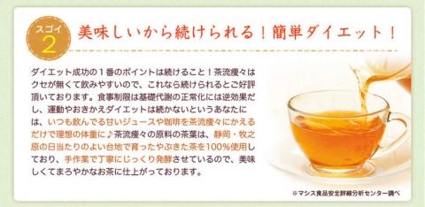 国産 ダイエットプーアール茶【茶流痩々】 (4)