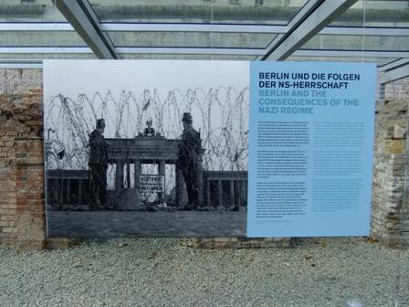 ブランデンブルク門閉鎖の写真