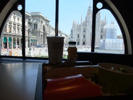 ミラノのマック