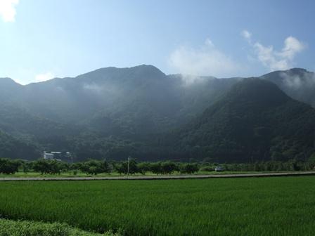 小布施の山