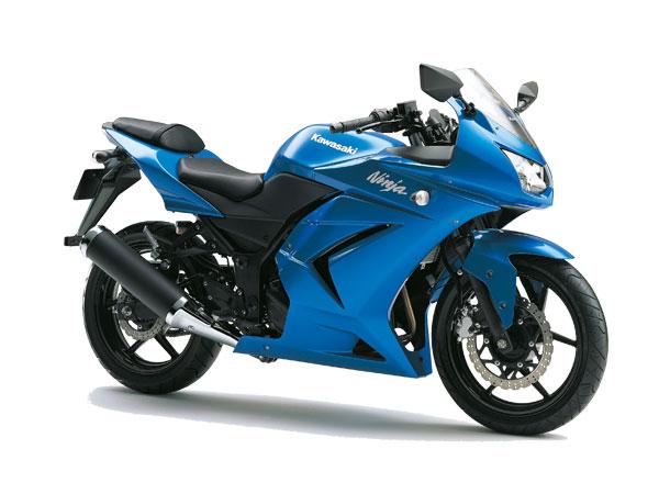 Ninja250R 2010 メタリックアイランドブルー