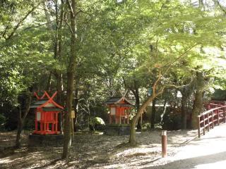 愛宕神社と聖明神社