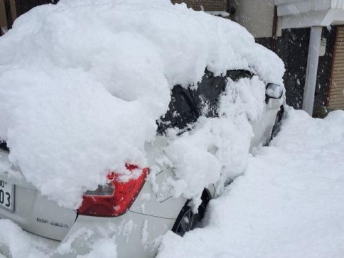 2014-12-06 車が埋まった