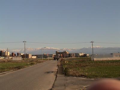 立山連峰2