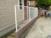 フェンス完成