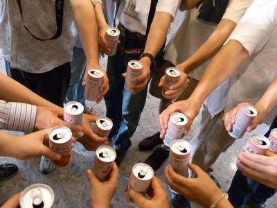 最後の乾杯