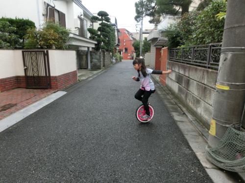 一輪車練習1