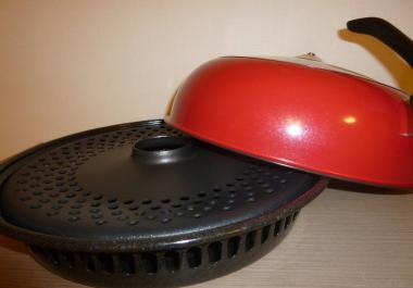 通販で買った鍋