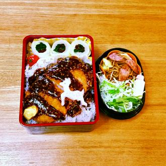 胡麻味噌カツ弁当