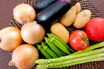 アールティー夏野菜カレーの野菜